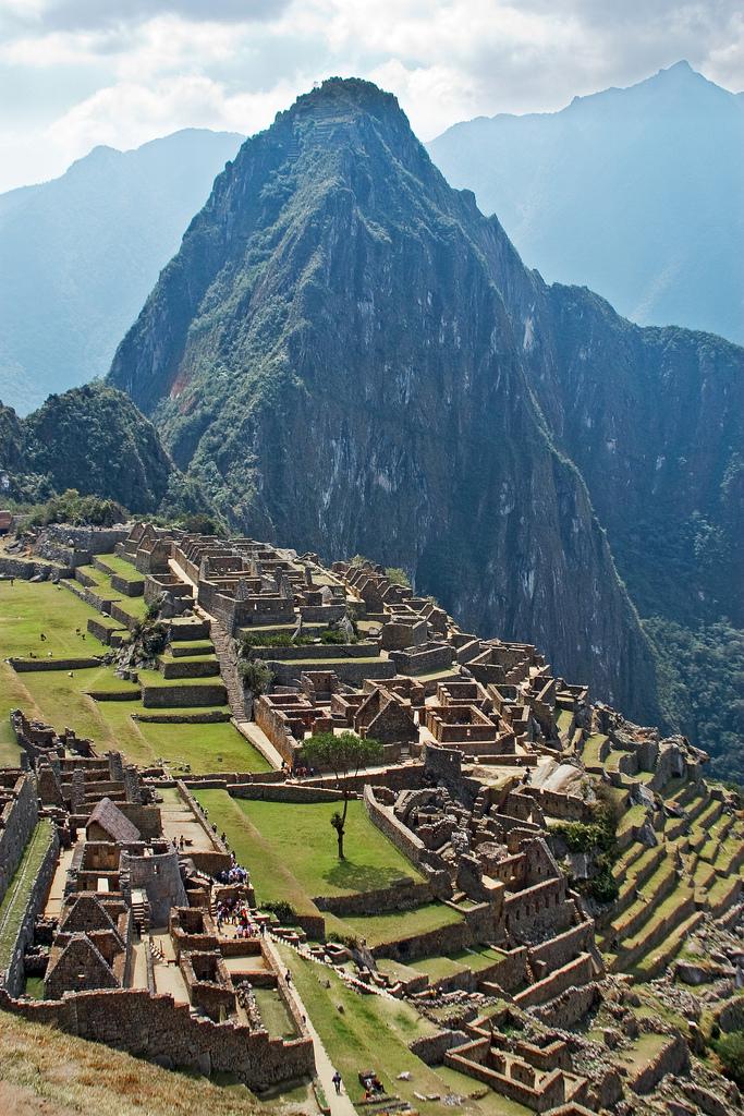 Le Machu Picchu et le Huayna Picchu