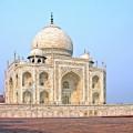 Taj Mahal édifice de marbre blanc