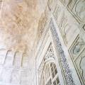 Décoration intérieur du Taj Mahal