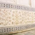 Décoration extérieur du Taj Mahal