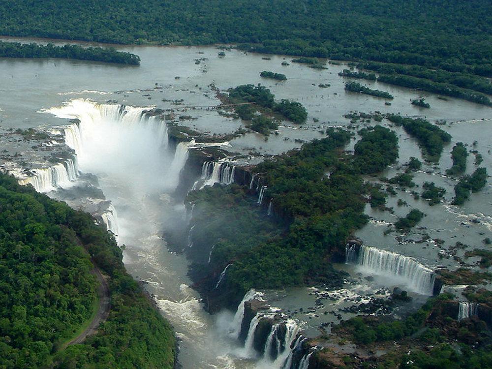 Iguazu vu du ciel