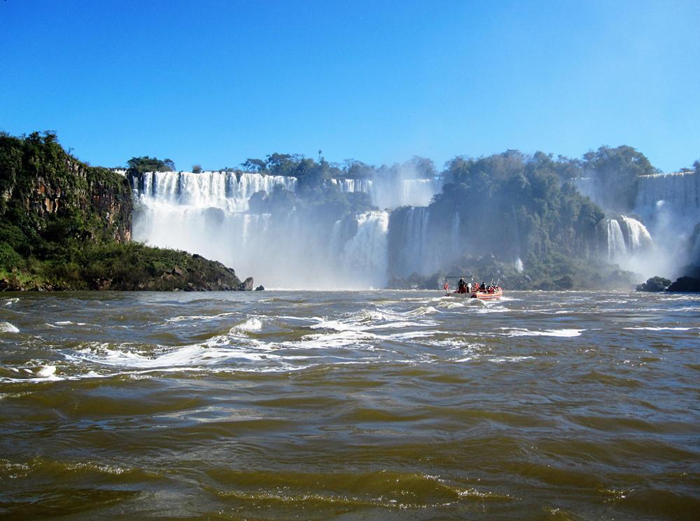 Iguazu en zodiac