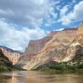 Le grand Canyon vu du fleuve Colorado