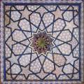 Samarcande : décor de la mosquée Khodja-Akhrar