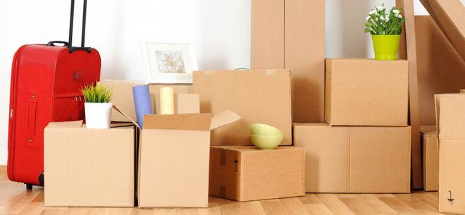cartons pour le garde meuble