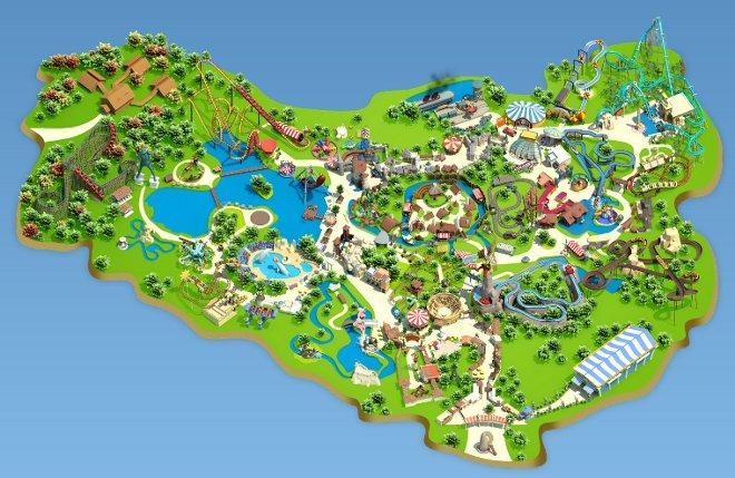 plan du parc asterix