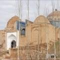 Samarcande : mausolée de shah-i-Zinda