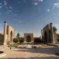 Samarcande : place Registan